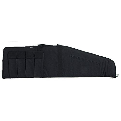 Bulldog Cases Extreme Black Shotgun Case with Black Trim (48-Inch)