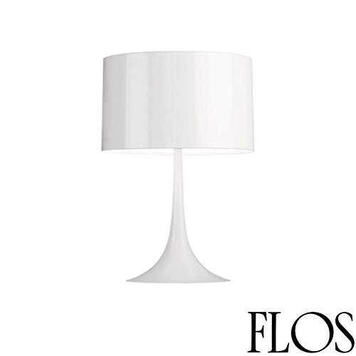 Flos Spun Light - Flos Spun Light T2 Table Lamp Shiny White