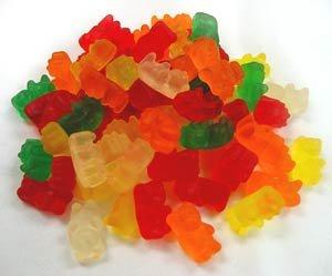 Wockenfuss Candies Sugar Free Gummi Bears, 1lb