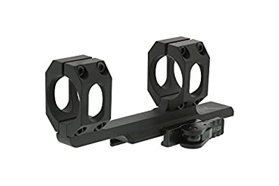American Defense AD-SCOUT 30 STD Riflescope Optic Mount, Black by American Defense Mfg