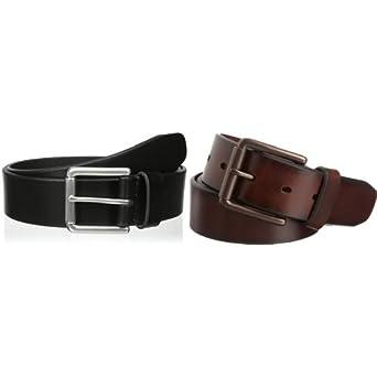 Dockers Men S 1 1 2 In Leather Bridle Belt