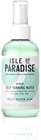 Sunscreen & Tanning: Isle of Paradise Self-Tanning Water