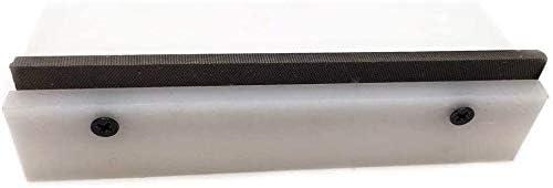7.1 x 1.5 Jiayouy Guitar Fret File Edge Sanding Leveling File Luthier Tool White 90 Degree Fret Bevel