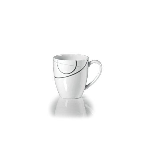 Mikasa Circle - Mikasa Geometric Circles Mug, White