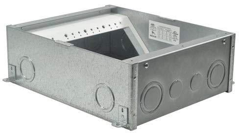 FSR FL-500P-4-B Flagship UL Listed Floor Box
