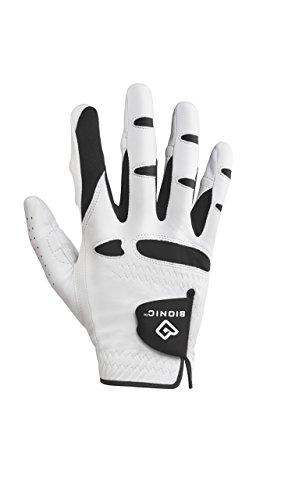 (Bionic GGNMRM Men's StableGrip with Natural Fit Golf Glove, Right Hand, Medium)