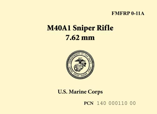(U.S. Marine Corps M40A1 Sniper Rifle 7.62mm)