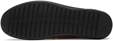 You Are Fashion 男性の快適な夏本革ローファー用男性靴モカシン快適なスリップオンオフィスビジネスドレス正式な男性靴モカシン靴 (Color : ブラック, サイズ : 27 CM)