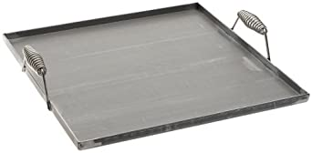 Tomlinson 4-Burner Pickled Steel Griddle with Handles