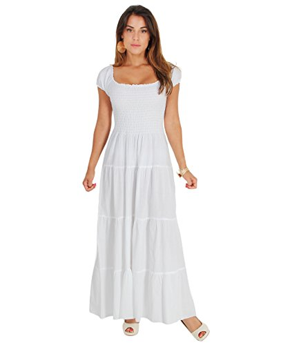 gypsy dress white - 7