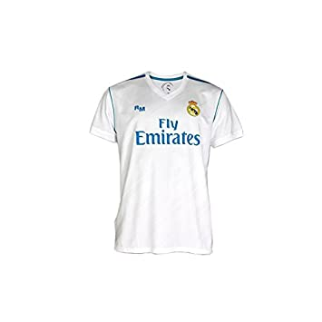 BOX SET 1ª EQUIPACION REAL MADRID REPLICA OFICIAL 2017-2018-TALLA 4 AÑOS: Amazon.es: Deportes y aire libre