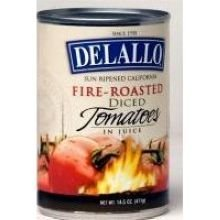 DeLallo Tomato, Fire Roasted Diced, 14.5 - Diced Fire Roasted Tomato Shopping Results