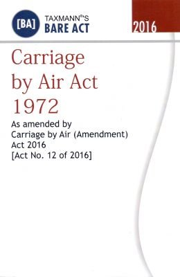 Download CARRIAGE BY AIR ACT 1972 pdf epub
