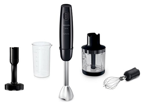 Philips HR1608/90 Daily Collection Hand Blender Black 550W 220V