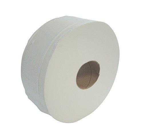 System Hygiene 300m 76mm (3') Core 2ply Jumbo Toilet Rolls - Case of 6