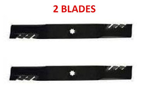 - Set of Replacement 3-In-1's Gator Mower Blades for John Deere 42