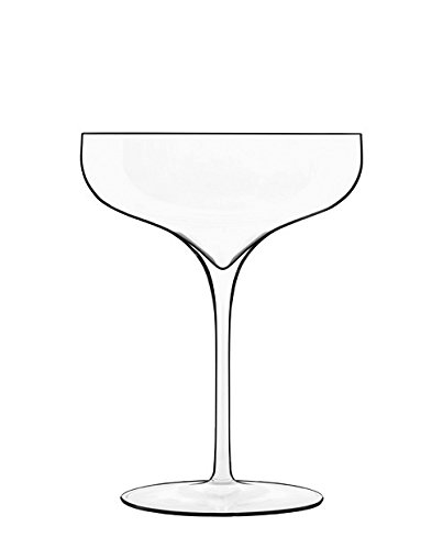 (Luigi Bormioli 11899/02 Vinea 10.25 oz Cocktail Glasses, Set of 2, Clear)