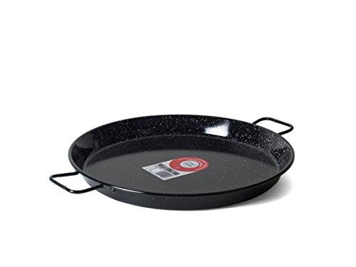 Garcima 14-Inch Enameled Steel Paella Pan, 36cm by La Paella