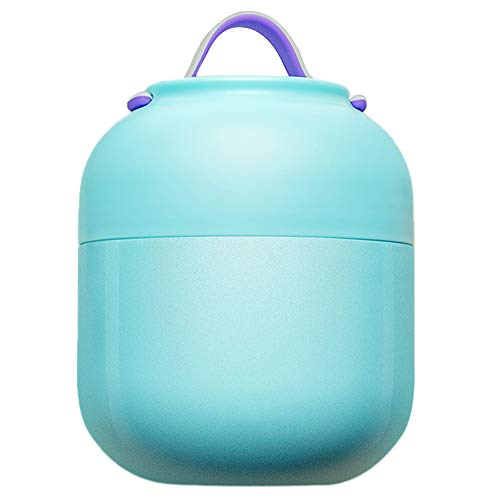Aland Lunch Box Insulation Soup Pot Stew Kettle Portable Bowl Vacuum Food Container Stainless Steel Children Portable Vacuum Stainless Steel Insulation Pot Mug Simmering Blue 500ml