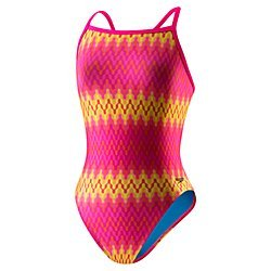 Speedo Flipturns Water - Speedo Women's Flipturns: Speedah Cheetah Propel Back - ProLT Pink D36