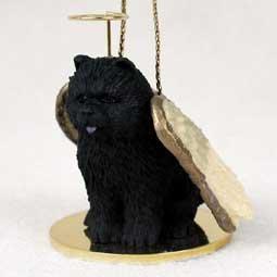 Conversation Concepts Chow Black Pet Angel Ornament
