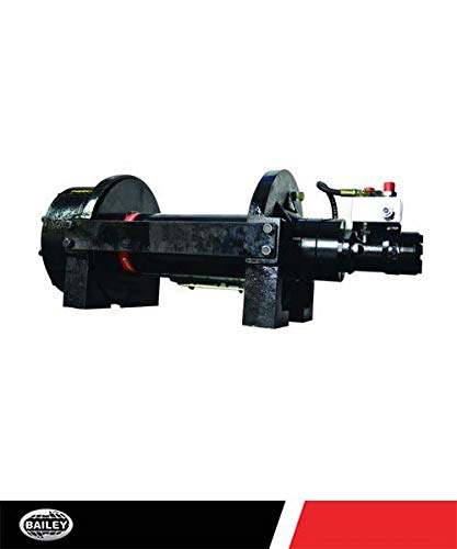 PIERCE Planetary Hydraulic Winches (10,000 LBS.): 30:1 Ratio, 7.1 FPM, 15.9 ()