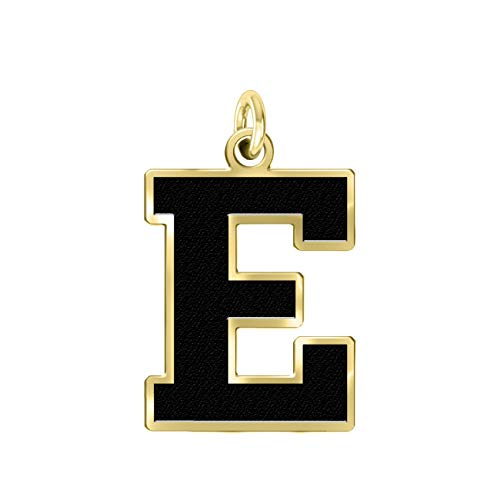 Eastern Michigan University Eagles 14k Yellow Gold Cut Out Logo College Charm (3/8