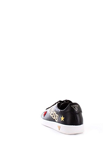 Sneakers 8 Black Guess Guess UK America Heart Ladies wAqCRzU4