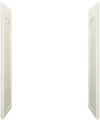 STERLING, a KOHLER Company 72185100-96 Series 7218 Ensemble Shower End Wall Set, 60 x 32-Inch, Biscuit