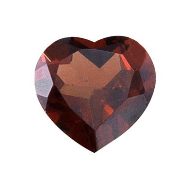 1.75-2.15 Cts of 8 mm AAA Heart Garnet (1 pc) Loose Gemstone ()