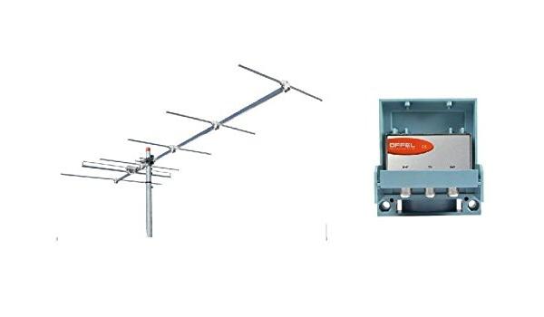 Kit de instalación adaptación digital terrestre de antena VHF ...