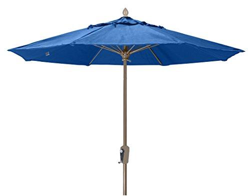 FiberBuilt Umbrellas 7MCRCB-8602 Market Umbrella, 7.5' Marine Grade Canopy, Pacific Blue (Fiberbuilt)