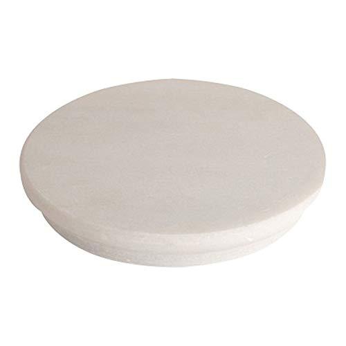 Roti maker rolling Board chakla best quality Italian White Marble Roti Maker Rolling Board (Chakla)