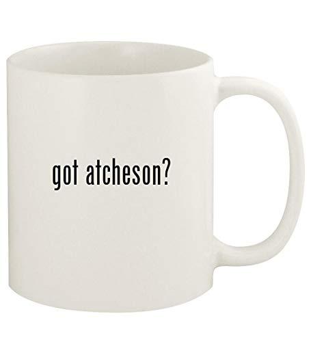 got atcheson? - 11oz Ceramic White Coffee Mug Cup, White