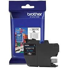 Brother Brand Name Inkjet MFC-J5330DW HI YLD Cyan Ink LC3017C ()