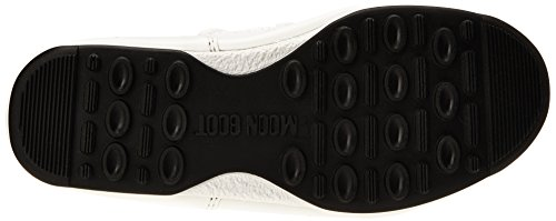 Unisex Moon E Bianco Boot Stivali W adulto Silver Quilted gqXWawFPxq