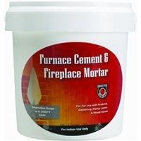 MEECO MFG 1355 1/2GAL Furnace Cement, Grey (Furnace Mortar)