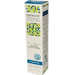 Andalou Naturals Acai and Kombucha Oil-Free Moisturizer, 2.1 Ounce (Tea Moisturizer Oil Free)