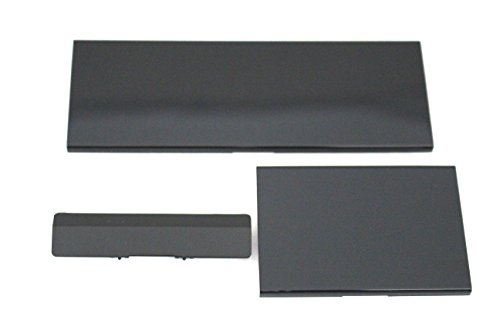 Replacement Black Door Slot Covers for Nintendo Wii Console (Gamecube Port For Wii)
