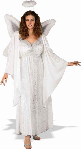 (Forum Plus-Size Angel Costume, White,)