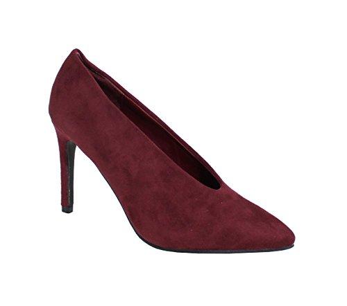 Suédine Femme Shoes Talon Rouge Escarpin Style Aiguille By pWwFHqXq