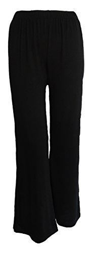 Get The Trend - Pantalón - Lunares - para mujer BLACK PLAIN