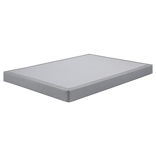 Ashley Furniture Signature Design - Ashley Sleep - Low Profile - Contemporary Full Size Mattress Foundation - Gray