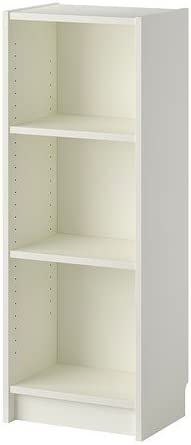 Ikea Billy Bucherregal In Weiss 40x28x106cm Amazon De Kuche Haushalt