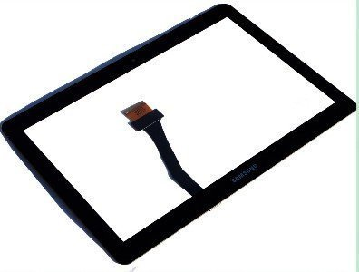 Touch Screen Digitizer for Samsung Galaxy Note 10.1 N8000 Tablet - Black - Glass Panel Lens Repair Replacement Part