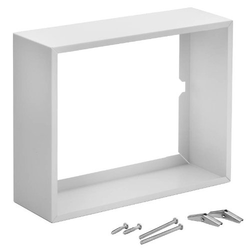 Broan 84 Surface Mount Kit White enamelled steel For Broan Comfort-Flo Wall Heaters from Nutone