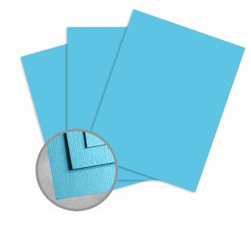 Treasures Pool Card Stock - 8 1/2 x 11 in 80 lb Cover Textured 250 per Package (80 Cover Treasures Lb Cardstock)