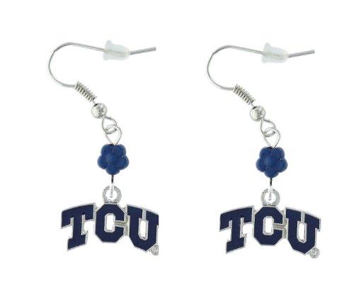 NCAA TCU Horned Frogs Sophie Beaded Earrings