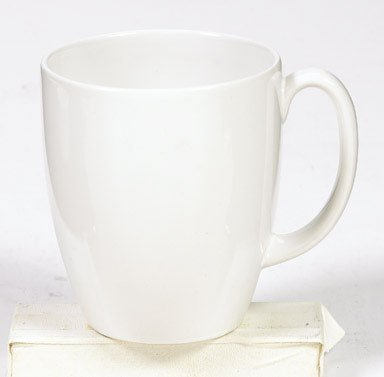 Corelle 6022022 Stoneware Winter Frost White Mug, 11 Oz, White (Pack of 4)