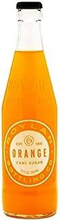 product image for Boylan Bottling Pure Cane Sugar Soda Pop, Orange, 12 oz Glass Bottles (Pack of 6)